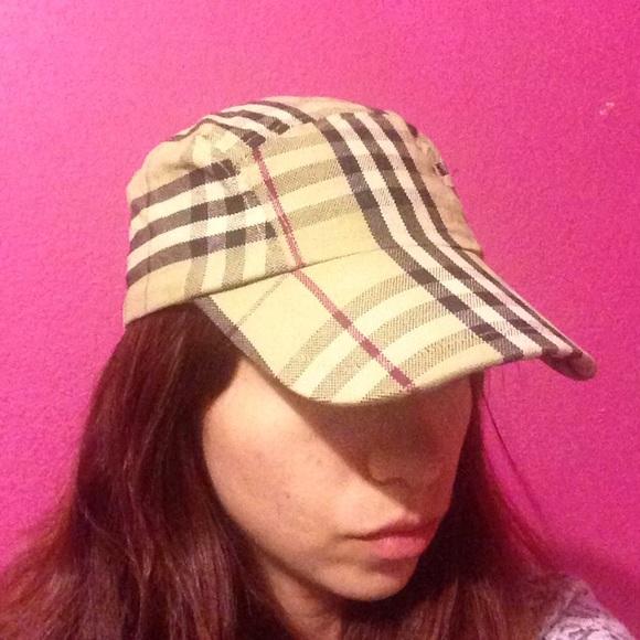 burberry sport mens baseball hat accessories nova check cap ebay authentic