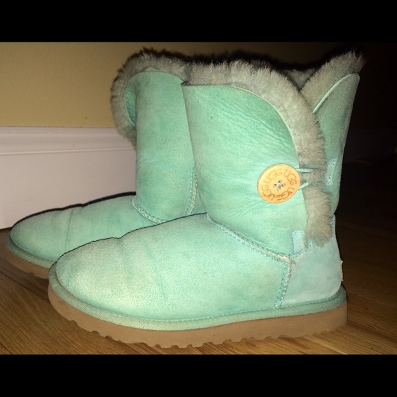 Women's Mint Green Ugg Boots