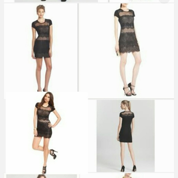 80% off BCBG Dresses &amp- Skirts - 1 Hour Sale New BCBG Maxazria Lace ...