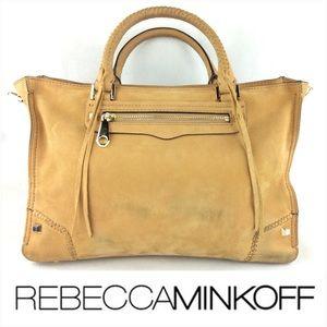 Rebecca Minkoff Regan Satchel Suede Bag