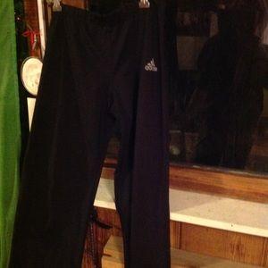 Adidas workout pant /straight leg