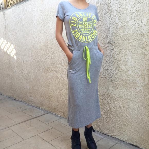 Sporty Maxi Dress