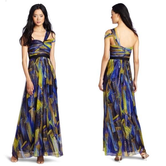 BCBGMaxAzria Dresses | Salebcbg Inga One Shoulder Evening Gown ...