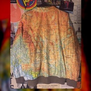 Urban outfitters other saleultra rarevtg tyvek map jacket poshmark urban outfitters jackets coats saleultra rarevtg tyvek map gumiabroncs Gallery