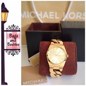 NWT MICHAEL Michael Kors Channing Bracelet Watch