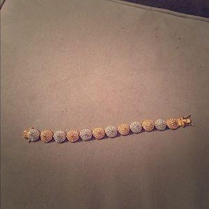 Eddie Borgo Pave Pyramid Bracelet