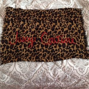 Juicy couture leopard scarf