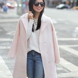 Few Moda Jackets & Coats - PRICE DROP‼️ Pale Pink Coat