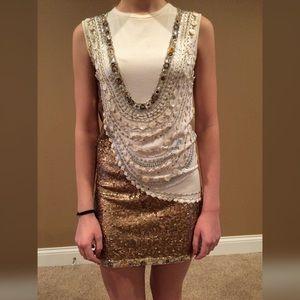 Bejeweled Nicole Miller Dress