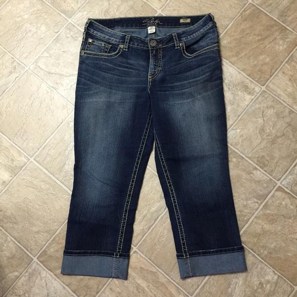Silver Jeans - Silver Jeans Suki Capri from Amanda's closet on ...