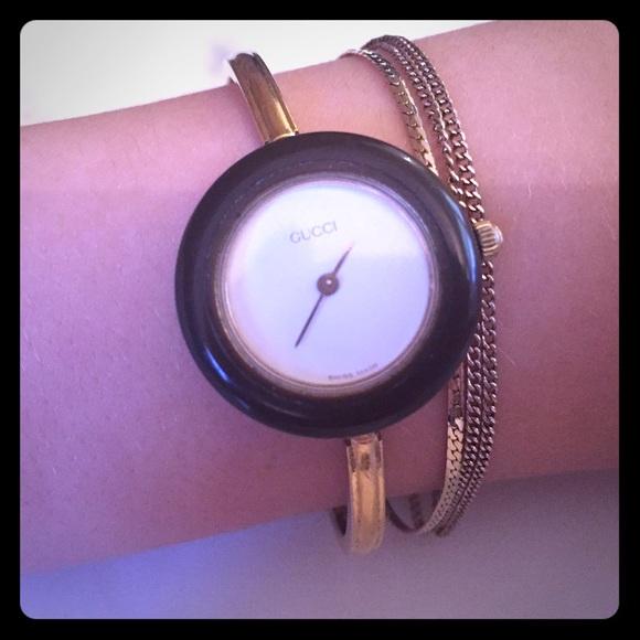 070e84abc Gucci Jewelry - 🕑 GUCCI 🕑 vintage gold bezel women's watch