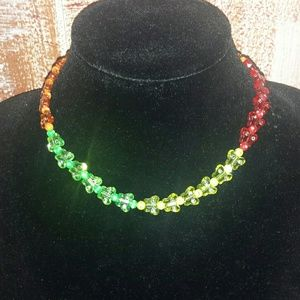 Jewelry - Children's multi colored butterfly necklace