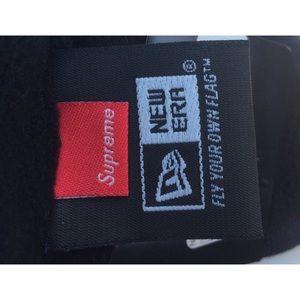 Supreme Accessories - Supreme New Era classic logo headband in navy 513232fe46