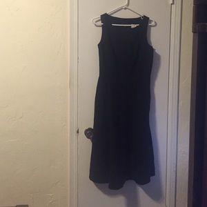 Black Banana Republic A-Line Dress