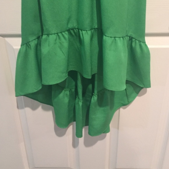 Pins & Needles Dresses - Green high low dress worn once