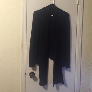 Black drapey Cardigan