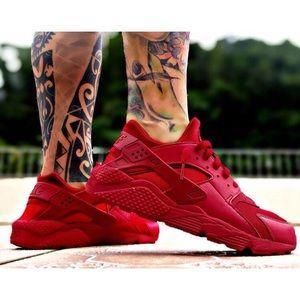 Nike Huarache Triple Veste Hommes Rouge XScj9bx