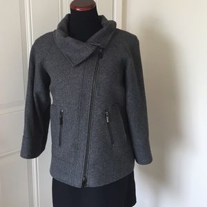 ANTONIO MELANI Jackets & Blazers - Cape like wool coat