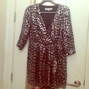 Trina Turk Silver Foil Dress/Tunic