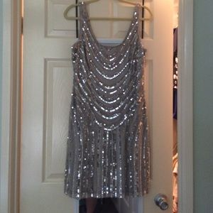 Adrianna Papell size 10 sequin dress