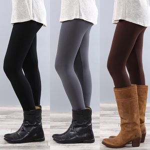 """Confession"" Fleece Lined Leggings"