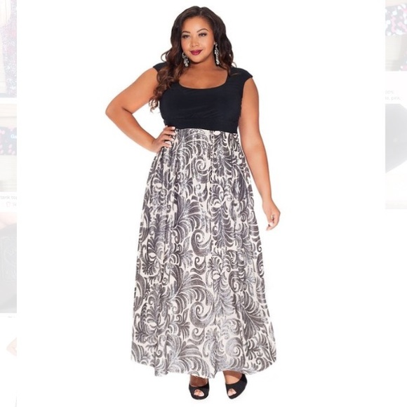 winter formal dresses plus size