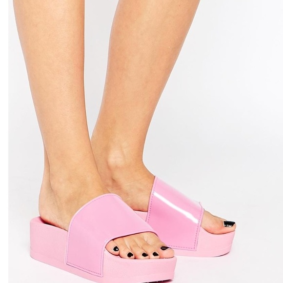 official images new high quality purchase cheap ASOS Shoes | Pastel Pink Platform Sandals | Poshmark