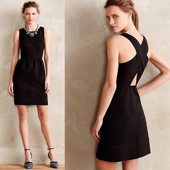 18b9ea3266a64 Anthropologie Dresses & Skirts - Anthropologie Rokin Dress by Maeve in Black  - 2