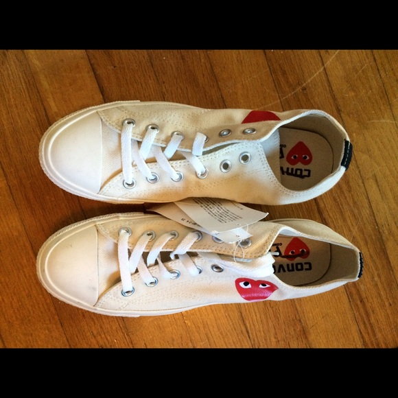 751cae7784a Play Comme des Garçons Converse Sneakers Size 10