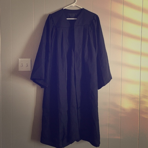 Dresses | Black Graduation Gown For Height 5355 | Poshmark