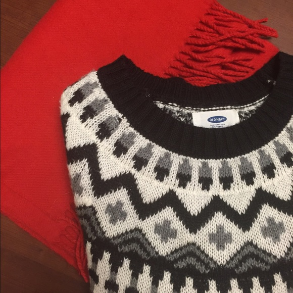 70% off Old Navy Sweaters - MUST GO ❤ Fair Isle Sweater Dress ...