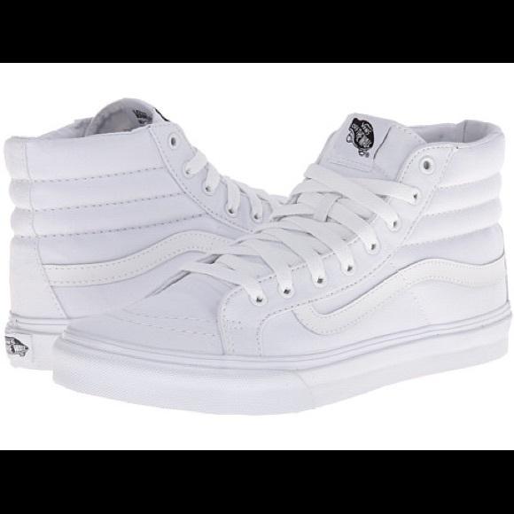 Vans High Tops White