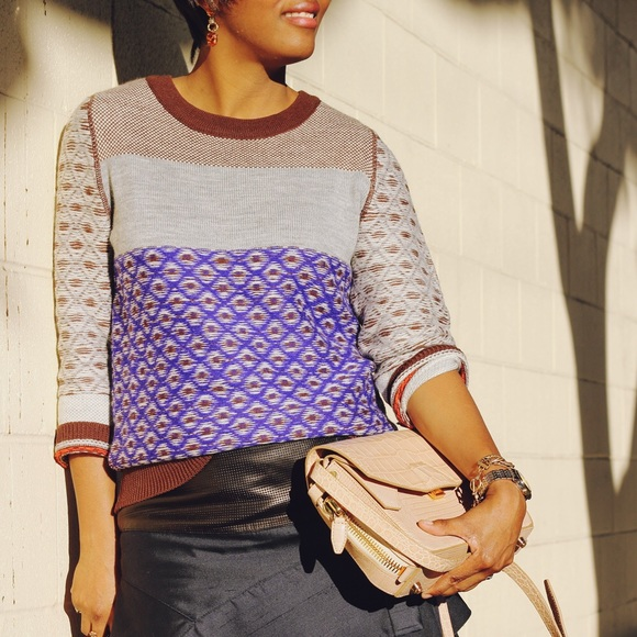 79% off J. Crew Sweaters - J.Crew inside out fair isle sweater ...