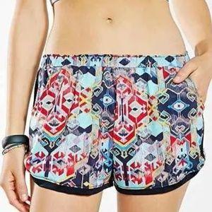 NWT Medium / Large Onzie Nepal Athletic Shorts