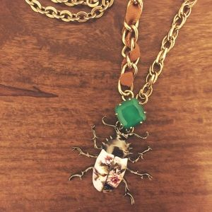 Jewelry - Scarab Long Necklace