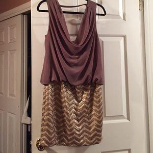 Dresses & Skirts - Open back mini dress