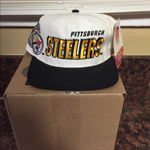 Vintage Deadstock Steelers Hat 769abac38f1e