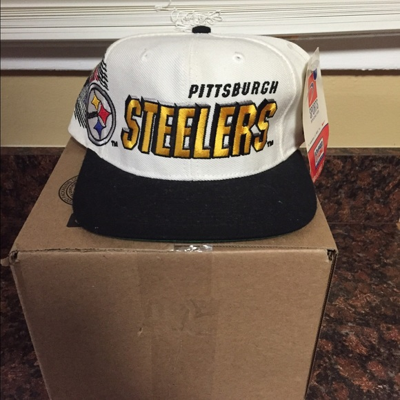 a2f51b2d Vintage Deadstock Steelers Hat NWT