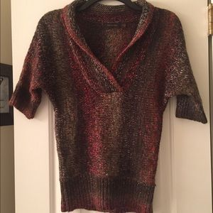 Multi colored sweater from The Limited.