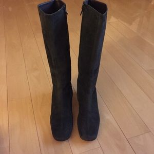 Banana Republic suede leather boots