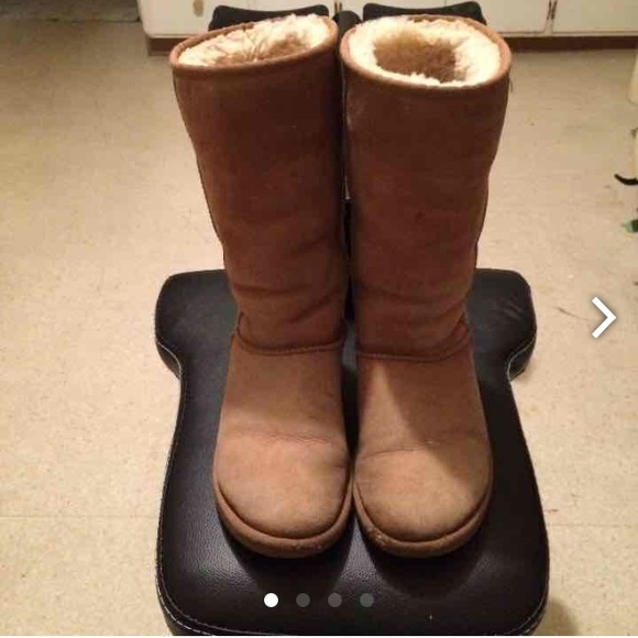 Tall Chestnut Ugg Boots Women Size 6