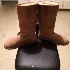 Black Ugg Boots Size 6