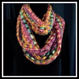 Accessories - super soft infinity loop scarf  in multi color