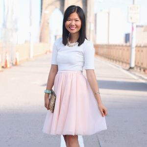 Skirts - Pale Pink Tulle Skirt