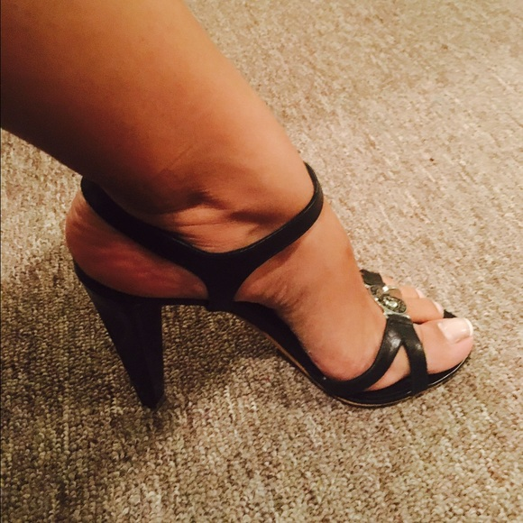 Marc by Marc Jacobs Shoes - 👯 Marc By Marc Jacobs Black Strappy Heels 👯