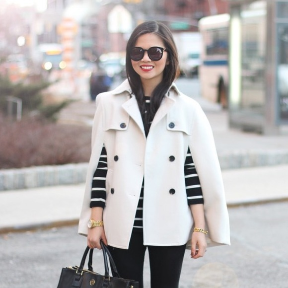 Ann Taylor Jackets & Blazers - Trench Coat Cape