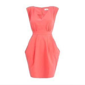 Dorothy Perkins coral dress