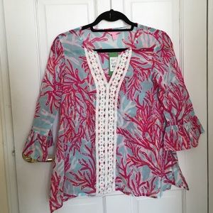 PRICE DROP‼️ Lilly Pulitzer Tunic NWT!!