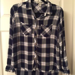 Plaid shirt - perfect for the weekend!