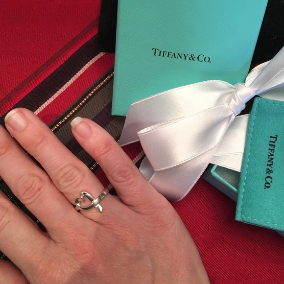 42c58a166 Tiffany & Co. Jewelry | Paloma Picasso Loving Heart Ring Size 65 ...